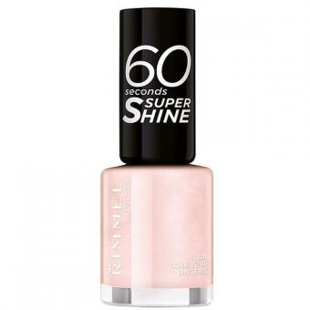 Rimmel Lak na nehty 60 Seconds Super Shine 8 ml 405 Rose Libertine