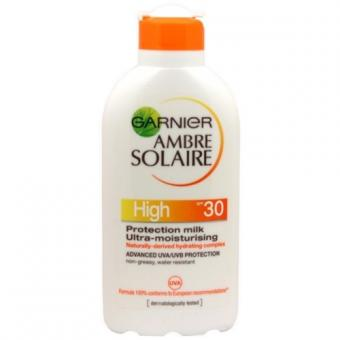 Garnier Opalovací mléko SPF 30 (High Protection Milk) Ambre Solaire 200 ml